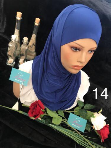 Foulard-Hijab Islamic-SCARF-Écharpe lemaa حجاب قطعتين ليما