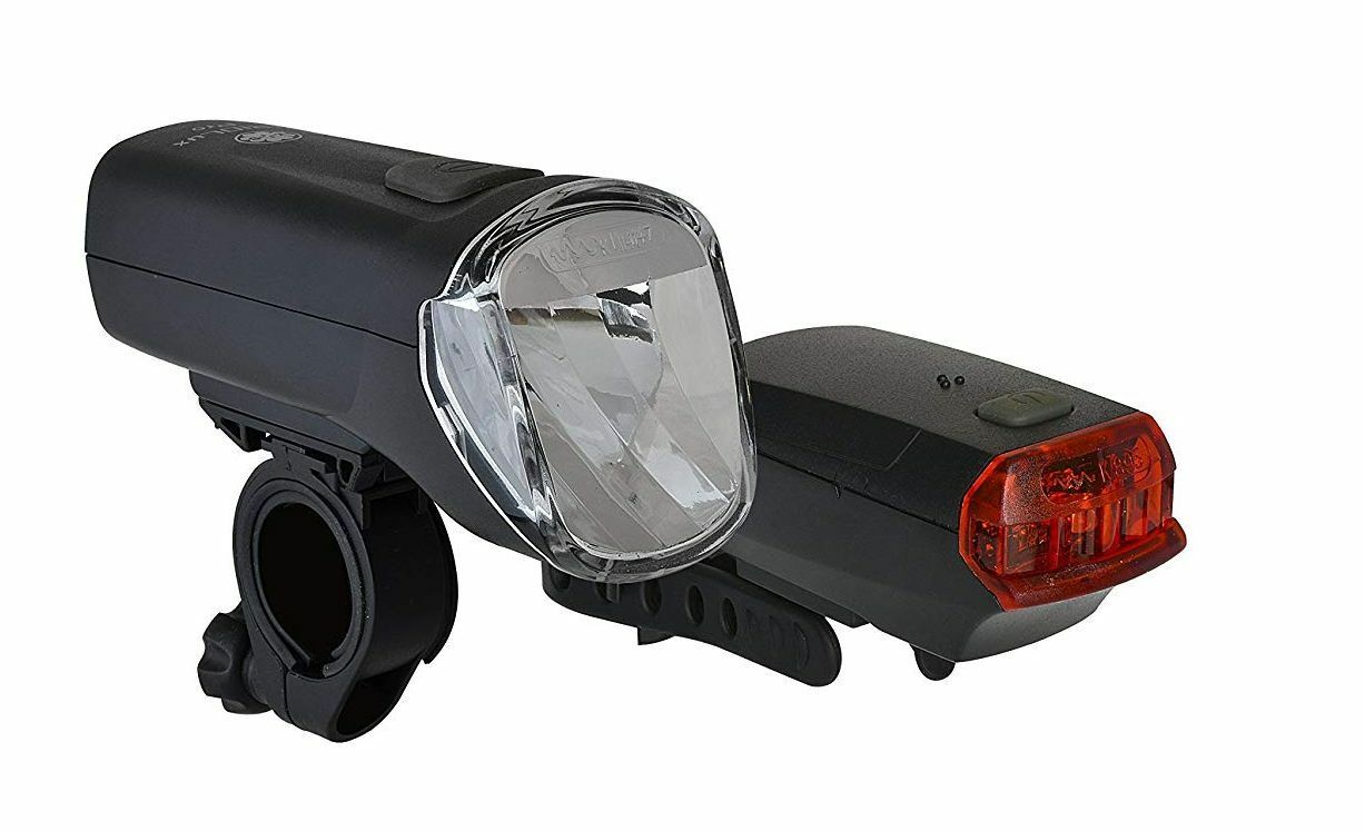 Bike Led Battery Lighting Set Trio  Lux pro 60 Lux  sale online