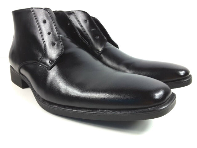 5a77680caba3 Frequently bought together. JF J Ferrar Discovery Men s Dress Boots  014-1232 Black ...