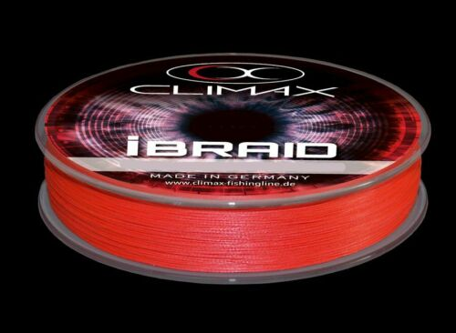 CLIMAX iBraid 0,16mm 14,2kg 275m Fluo Red