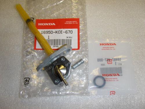 Honda 250 New Fuel Petcock /& O-Ring 1996-2004 XR250R 16950-KCE-670
