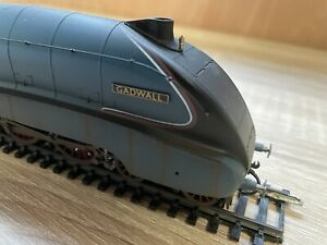 """Hornby A4 Class Loco """"Gadwall"""" Weathered R3285TTS DCC Sound Fitted."""