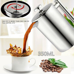 Double-Wall-Insulated-Stainless-Steel-French-Press-Coffee-Tea-Maker-w-Filter-Kit