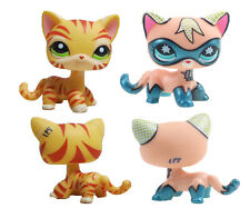 Littlest Pet Shop Comic Con Masked Superhero Shorthair Kitty  Cat&orange cat#7