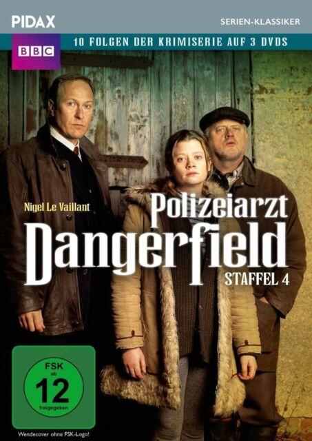 Polizeiarzt Dangerfield Staffel 4 * DVD Krimiserie mit Nigel Le Vaillant Pidax