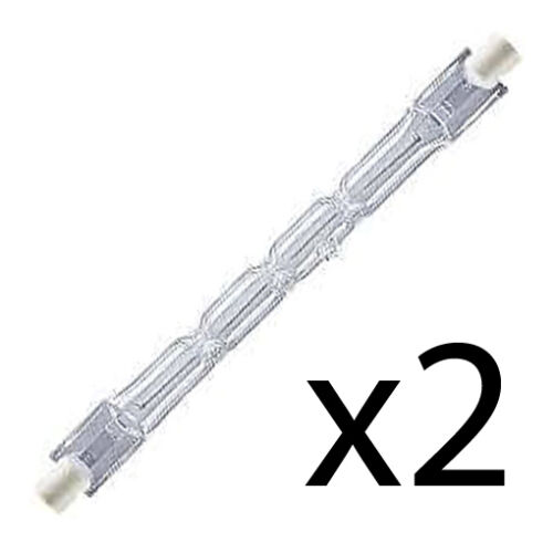 Halogen Light Bulbs Fine Elements Energy Saving 400w HT06 J118 10x118mm 4 Pack
