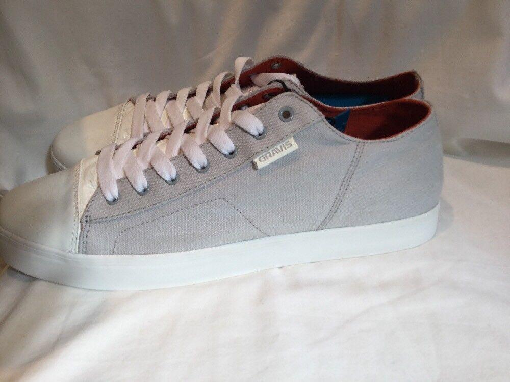 Véritable Homme Gravis Carlos Low Glacier Gris Chaussures