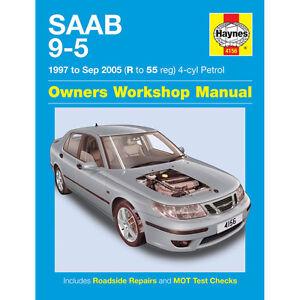 saab 9 5 haynes manual 1997 05 2 0 2 3 petrol special edition rh ebay com 1999 Saab 9-5 Grey 2002 Saab 9-5