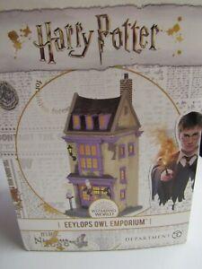 Dept 56 Harry Potter Eeylops Owl Emporium 6005614