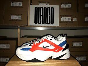 7f335affbaa Details about WMNS Nike M2K Tekno AO3108-101 US 7.5 - 10.5 IN HAND Orange  Blue White Black New