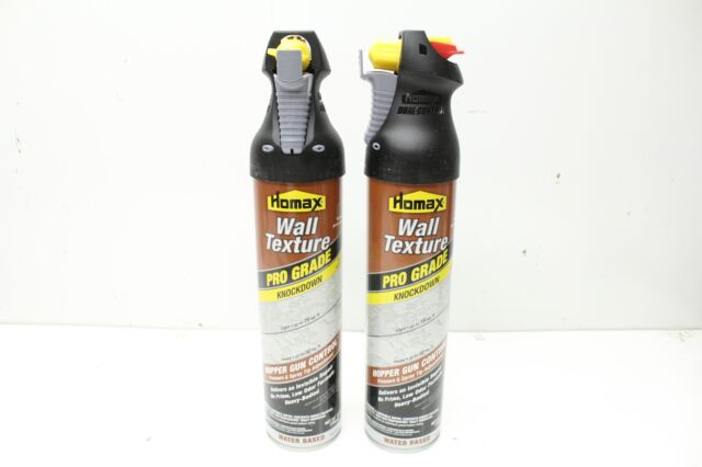 Homax 4565 Pro Grade Knockdown Wall Texture 25oz Water Based Lot Of 2