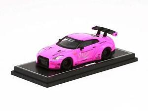 1-64-Liberty-Walk-LB-Performance-R35-Pink-Hong-Kong-Limited-Diecast-Model