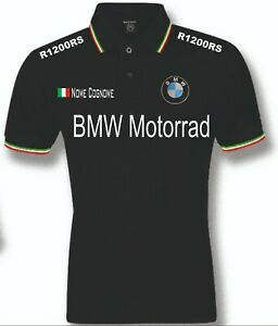 POLO-UOMO-BMW-R1200RS-mens-woman-unisex-S-M-L-XL-XXL-personalizzato