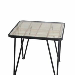 Metal-and-Glass-Accent-Table-with-Slatted-Bamboo-Top-Small-Black-and-Clear