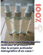 11 Liquid Watertransfer Printing Activator B Hydrographics How To Make Formula