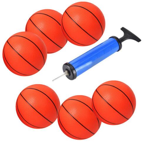 Spiele Basketball Glücklich 6 Stück Mini Kinder Aufblasbar Basketbälle