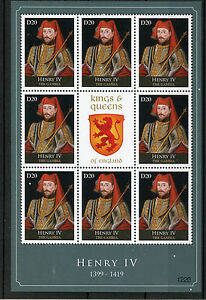 Gambia 2012 MNH Kings & Queens of England Henry IV 8v M/S Royalty Stamps