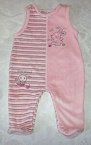 Strampler Babyanzug Overall Mädchen Baby Nicky Gelb Gr.68
