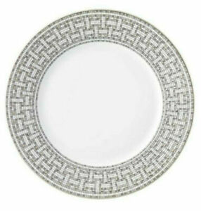 HERMES P035001P Mosaique Platinum Cup And Saucer - Pack of 3