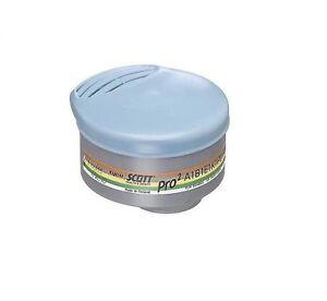 Scott PRO2 ABEK1 P3 Filtre 044083 Poussière Organique Ammoniaque Liquide & Gaz