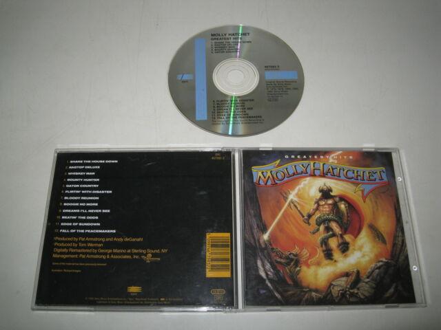 MOLLY HATCHET/GREATEST HITS(EPIC/467593 2)CD ALBUM