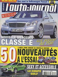 L-039-AUTO-JOURNAL-n-706-31-08-2006-BMW-Serie-3-VW-PASSAT-607-MERCEDES-E220CDI-IROC