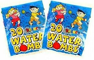 """3/"""" Drenchers 20 Water Bomb Balloons Multicoloured 20 pack"""