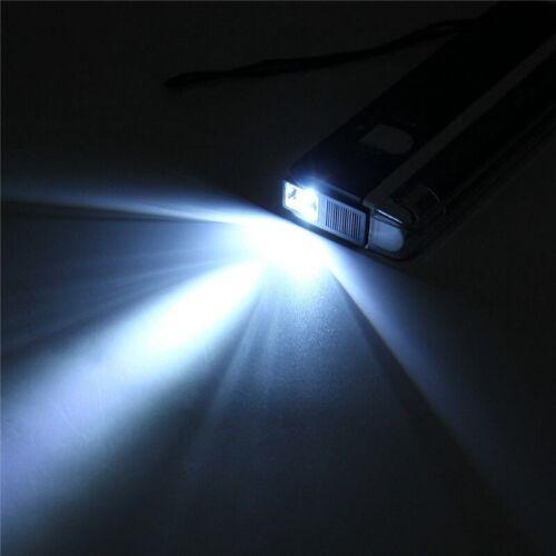 Handheld UV-Schwarzlicht-UV-Lampe mit Taschenlampe Portable Money Detector 2In1