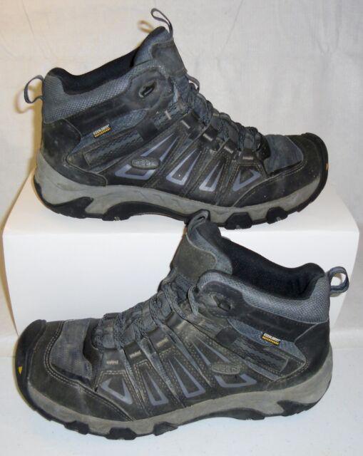 f0db3f9d941 KEEN Men's Oakridge Mid Waterproof Hiking BOOTS Size 11 Style # 1015307 D5