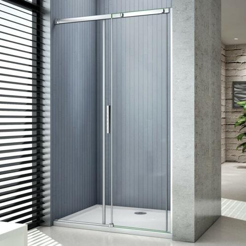 Schiebetür Gleittür 6-8mm NANO ESG Echtglas Duschabtrennung Duschwand Dusche