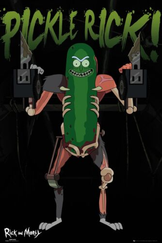 RICK AND MORTY Pickle Rick 61 x 91.5cm Poster NEW AND SEALED