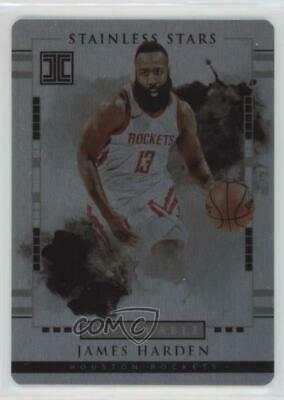 2018-19 Panini Impeccable Stainless Stars //99 James Harden #3