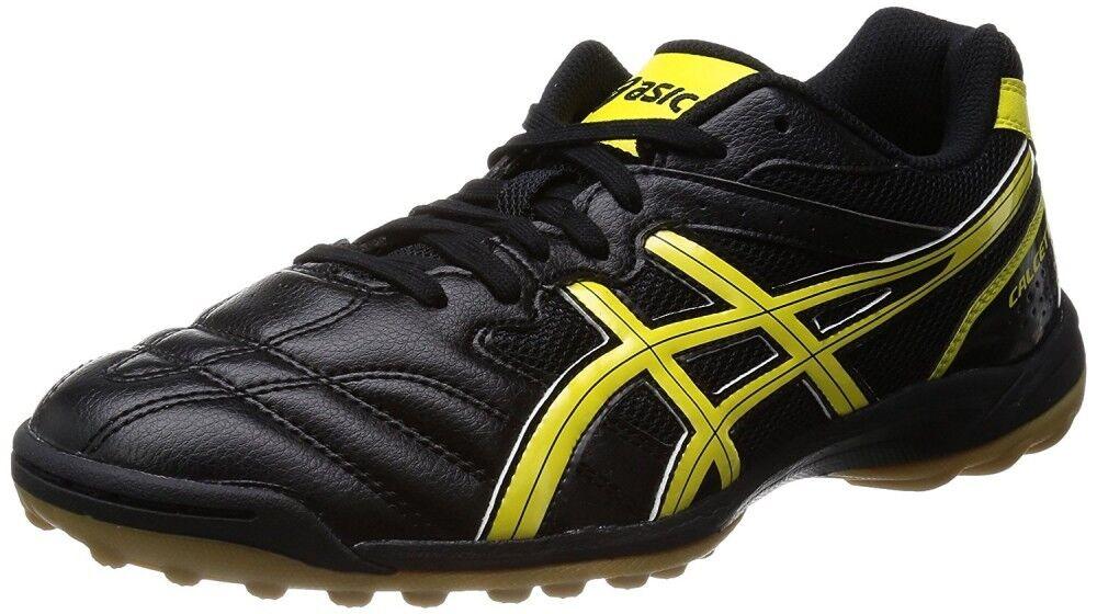 Asics Japan Calcetto WD 6 Tf Ancho Fútbol Interior Fútbol Zapatos Tst329 Negro