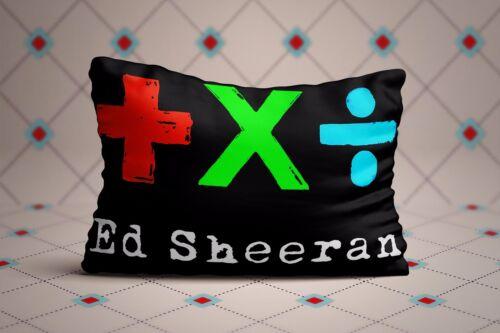 Cool Ed Sheeran Albums Zippered Pillow Cases 20X30