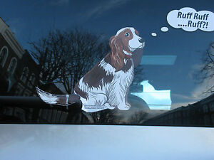 COCKER-SPANIEL-DOG-LOVER-NOVELTY-GIFT-COLLECTABLE-FOR-YOUR-CAR-REAR-WINDSCREEN
