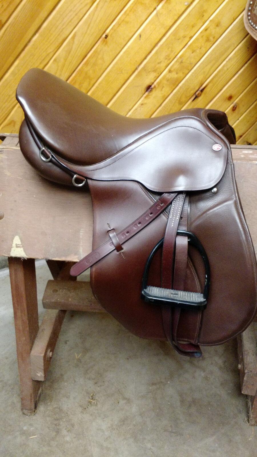 17  Courbette Optima English  saddle.  cheaper prices