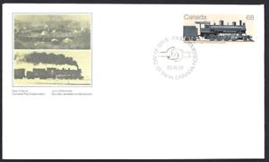 Canada-1074-Canadian-Locomotives-New-1985-Unaddressed