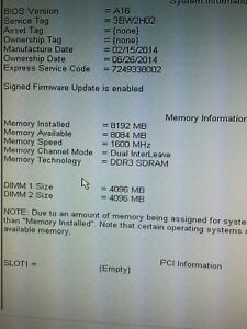 Dell Optiplex 7010 SFF 3.40GHz Core i3-3240 8GB RAM 320GB HDD No OS