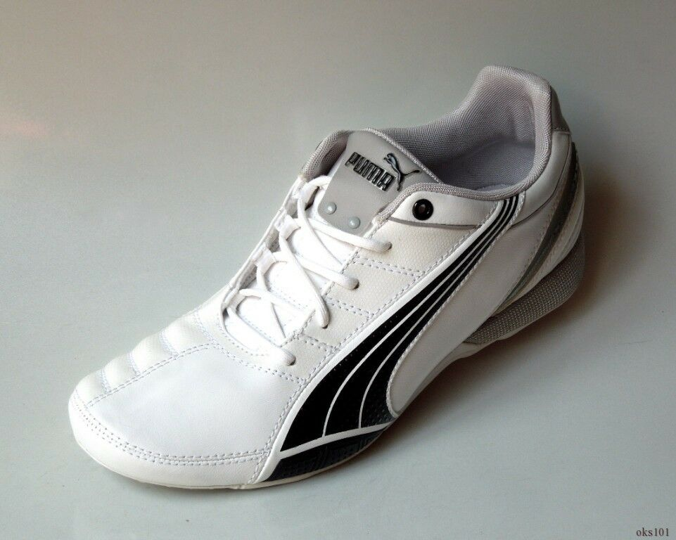 new PUMA Etoile WEISS/schwarz/gray Logo sneakers athletic flats schuhe 8 - COMFY