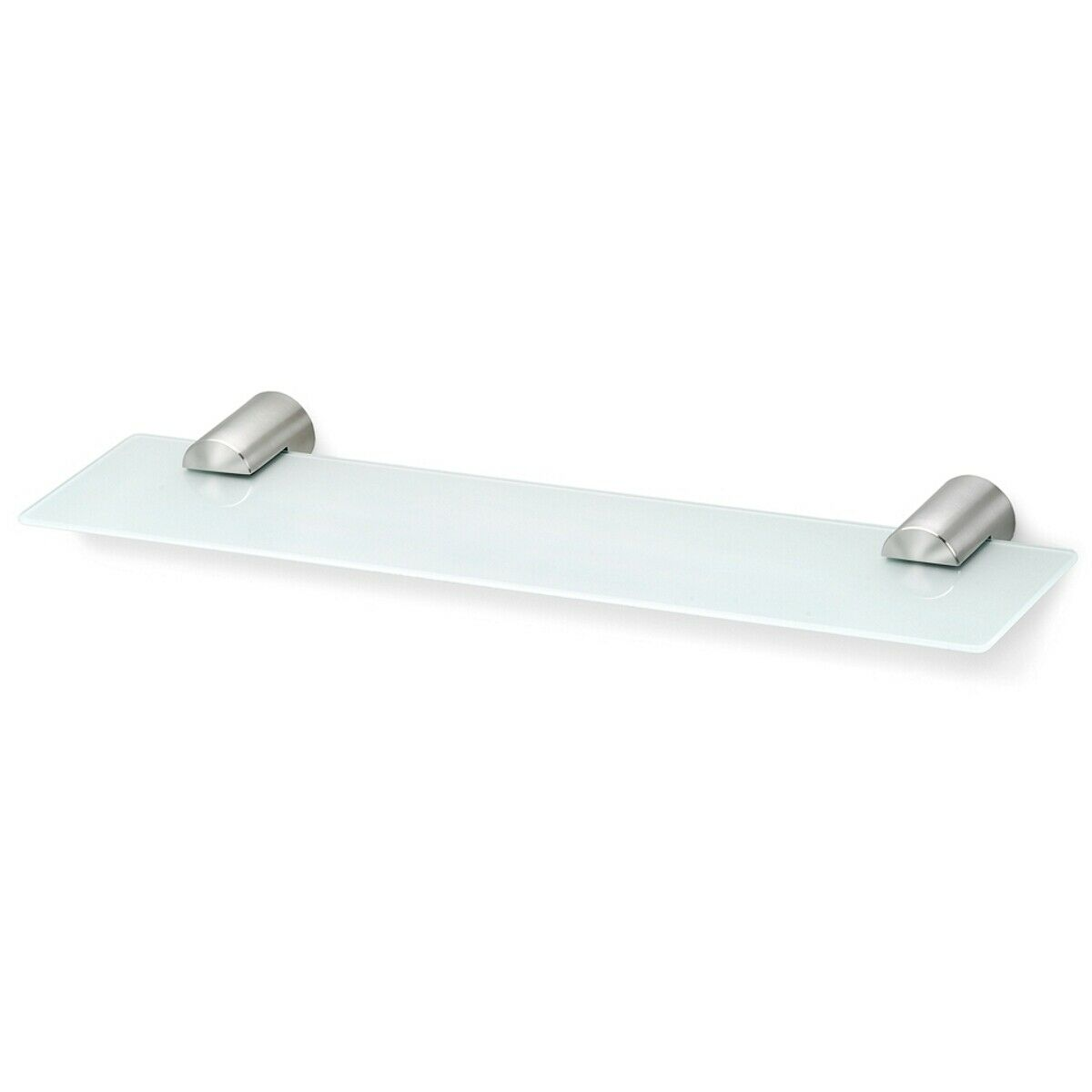 Blomus Stainless Steel and Glass Bathroom Shelf L50cm x D14cm