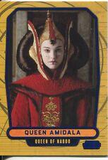 Star Wars Galactic Files Blue Parallel #12 Queen Amidala