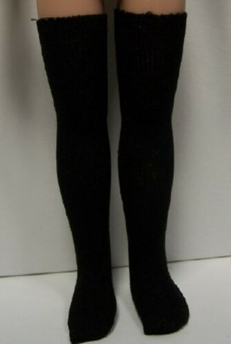 """Debs BLACK Thigh-Hi Socks Doll Clothes For Tonner 14/"""" Betsy McCall"""