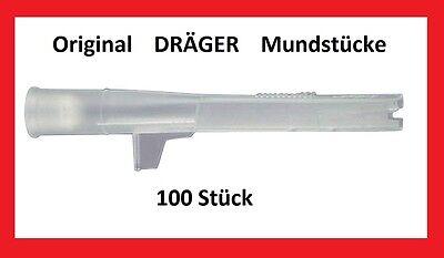100 Original Dräger Mundstücke Alkoholtester 3000 5510 6510 6810 6820 7510