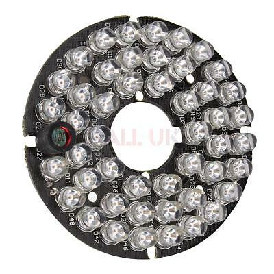 4x New 48 LED IR Infrared Illuminator Board for CCTV Security Cameras DC 12V UK