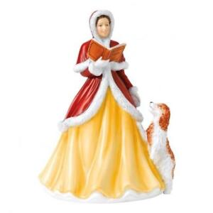 Christmas Carol Singers Figurines.Details About Royal Doulton Carol Singers Angels Realms Of Glory Christmas 2018 Lady Figure