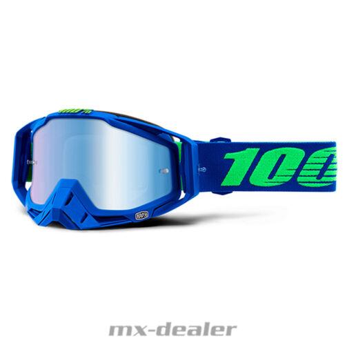 2019 100 /% Racecraft Extra verspiegelt Brille Motocross Enduro MTB BMX Cross DH