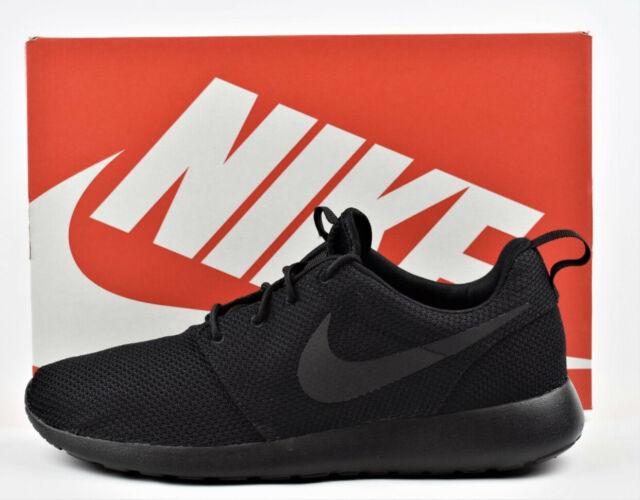 Nike Roshe Run Mesh Mens Black Red Shoes   Roshe Run Mesh Sneakers