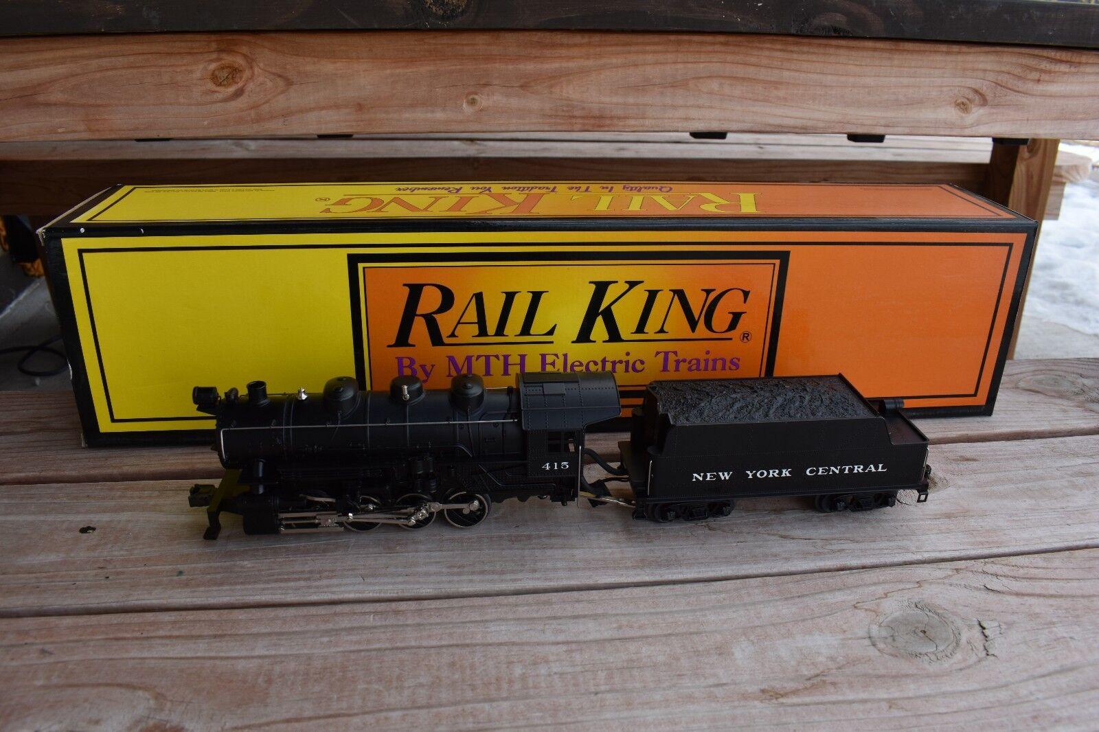 Mth Rail Rail Rail King New York central 0 - 8 - 0, projoosound 30 - 1123 - 1 66a