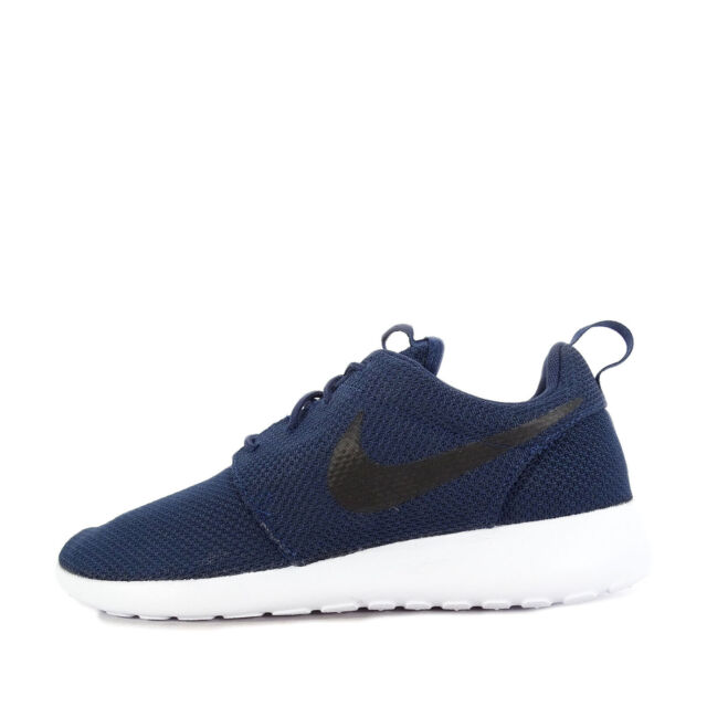 online store d7cce 2bd49 Nike Roshe One Sz 9.5 Midnight Navy Black White 511881 405