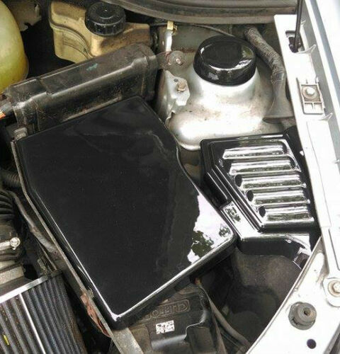 Sicherung Batterie, 16v Mk2 Kohlefaser Effekt Kosmetik Cover-Set Clio 172,182